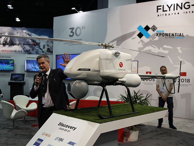 FLYING-CAM、数々の名作を撮影してきた名機再び、DISCOVERYを初公開  [Xponential2018]