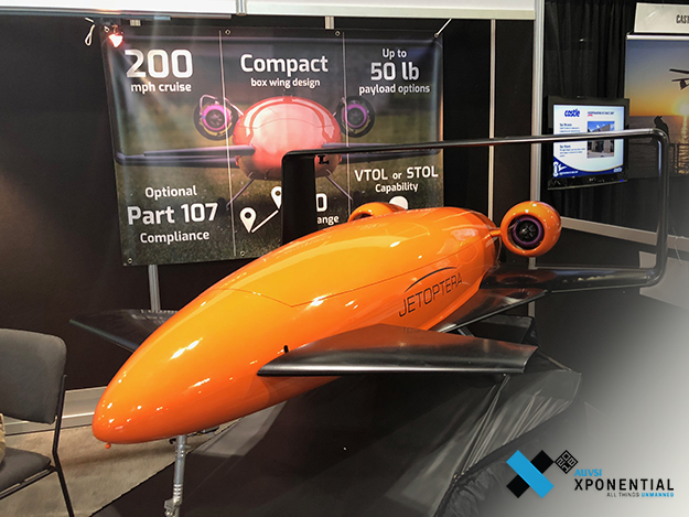 Jetoptera社、航空機を開発、小型VTOLから空飛ぶ自動車までの構想 [Xponential2018]