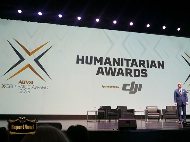 The 2019 AUVSI XCELLENCE Humanitarian Award、博愛的イノベーションで5つのパイオニア団体が受賞 [Xponential2019]